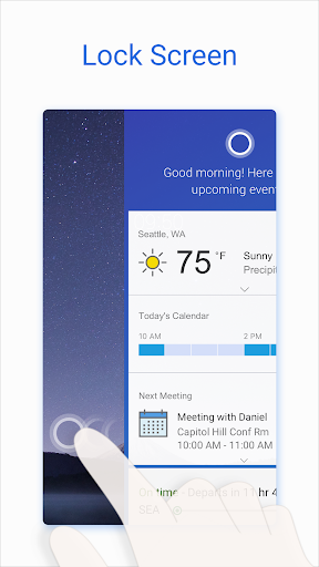 Microsoft Cortana u2013 Digital assistant 2.9.12.2053-enus-release screenshots 5