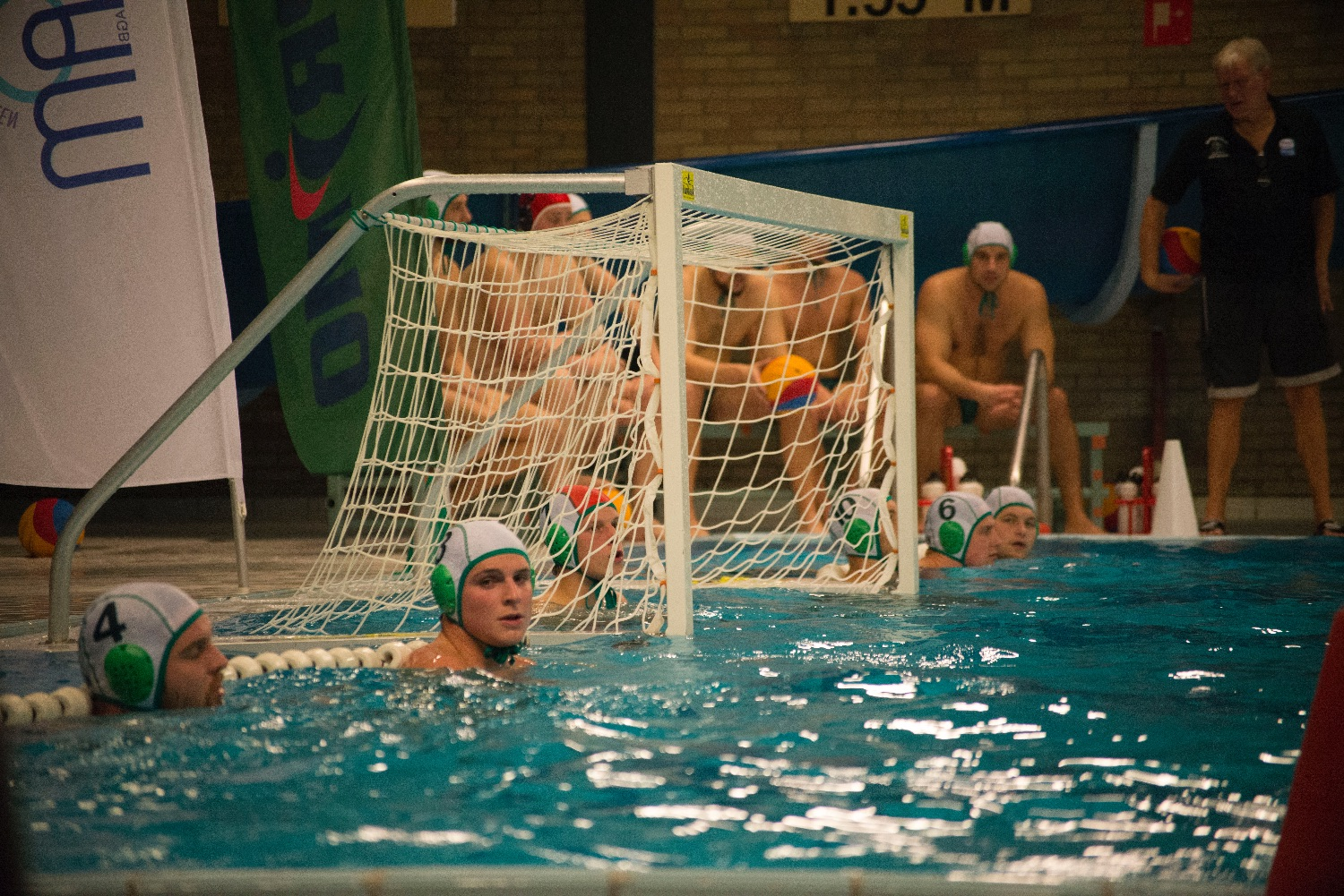 Waterpolo BVB: Mechelen - Calypso
