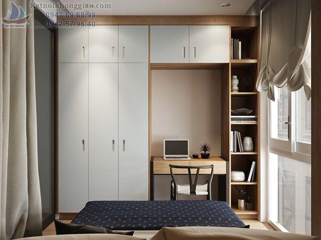 thiết kế phòng ngủ nhỏ đẳng cấp