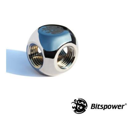 "Bitspower Q-blokk, 1/4""BSPx4"