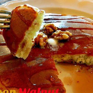 Cinnamon Walnut Pancakes For a Quick, Easy Breakfast.