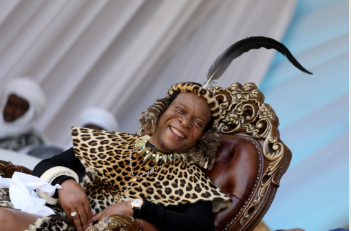 Zulu King Goodwill Zwelithini was all smiles during his 70th birthday celebrations at Enyokeni palace in Nongoma on July 27 2018