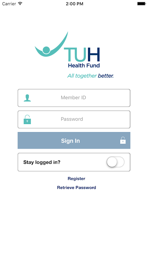 TUH Health- screenshot