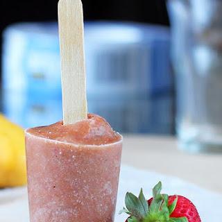 Strawberry Smoothie Pops