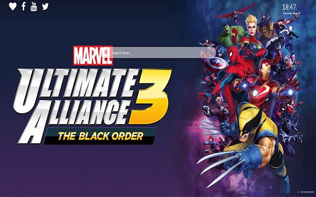 Marvel Ultimate Alliance 3 Wallpaper New Tab