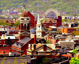 Photo: Over-the-Rhine and West End to Union Terminal