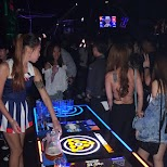 beer pong at VIBE nightclub, Taipei in Taipei, T'ai-pei county, Taiwan