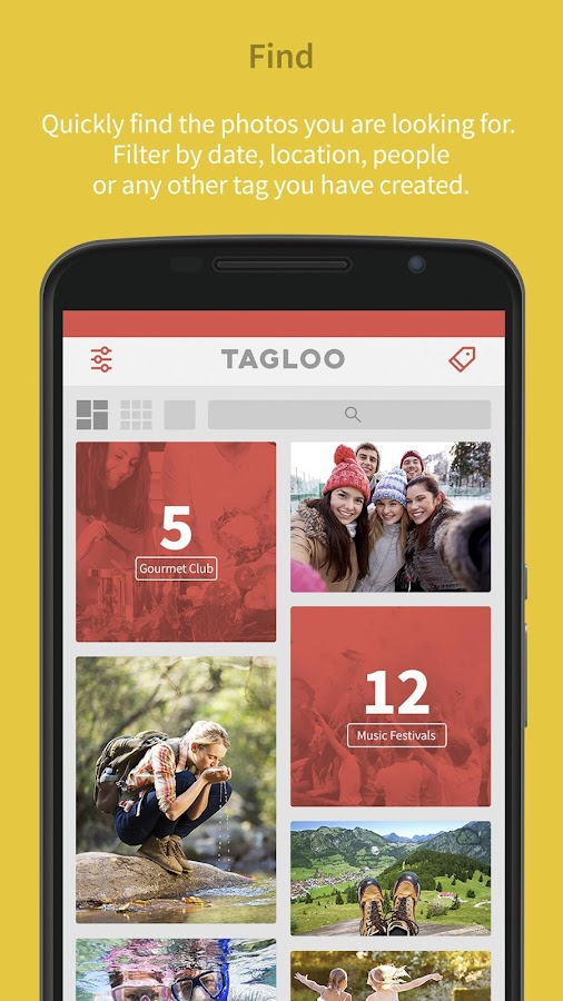 Tagloo - Your smart album- screenshot
