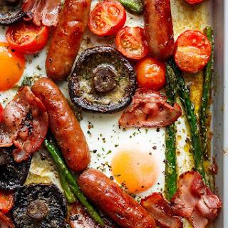 Bacon Egg Mushroom Recipes.