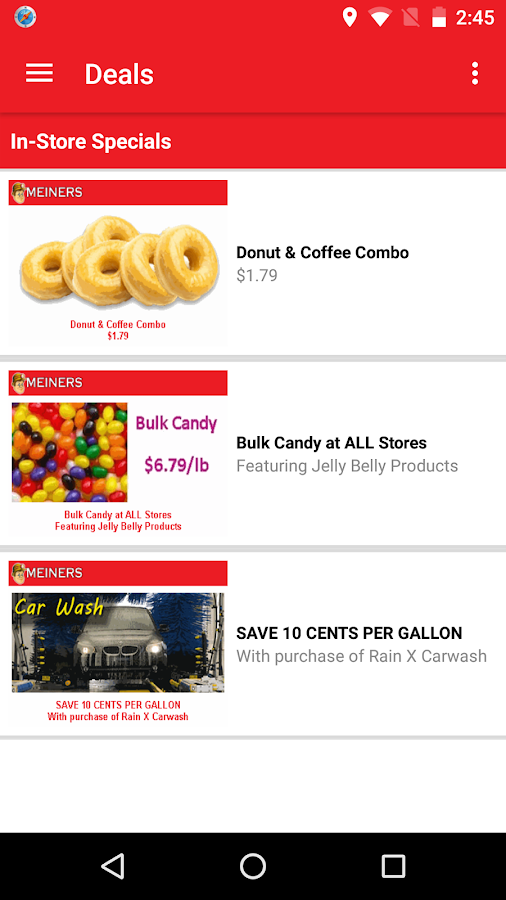 Meiners Markets Deal Alerts- screenshot