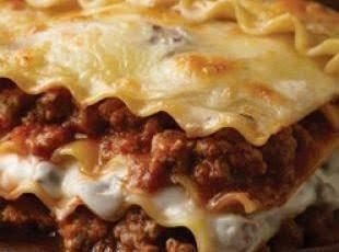 Beef & Mushroom Lasagna