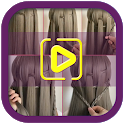 Hairstyles Step by Step Videos (Offline) icon