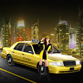 City Tourist Taxi Car Parking
