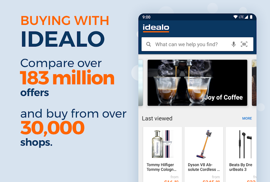 idealo - Price Comparison & Mobile Shopping App Android App Screenshot