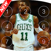 Keypad lock screen for Kyrie Irving