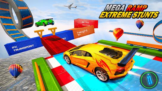 Mega Ramp Car Stunts – Extreme Car Racing Games 3D 9