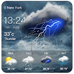 Live weather & widget for android 15.1.0.45651