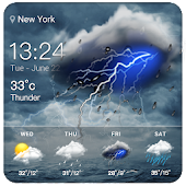 Live weather & widget for android