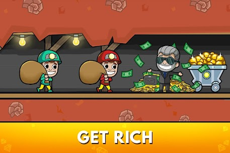 Idle Miner Tycoon: Mine & Money Clicker Management (MOD, Unlimited Coins) v3.00.0 2