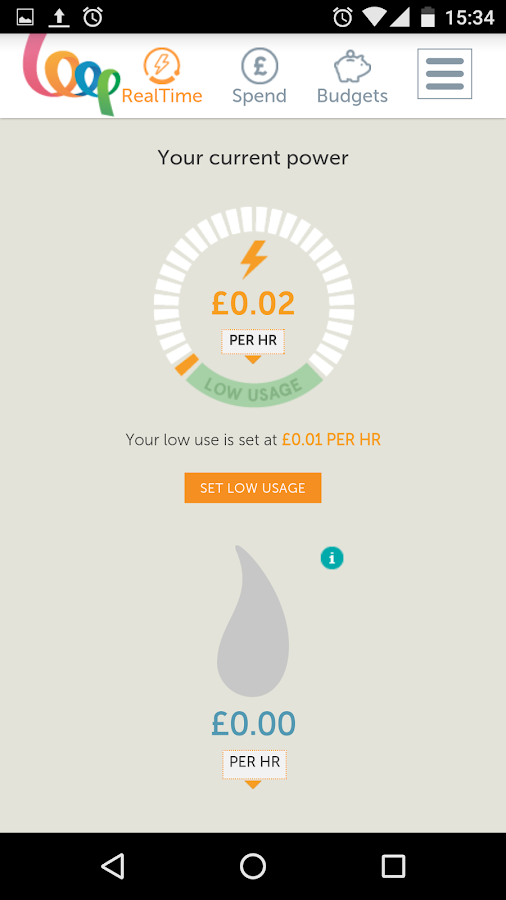 Loop Energy Saver- screenshot
