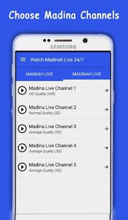 Watch Makkah & Madinah Live HD 2.0 screenshot 2092026