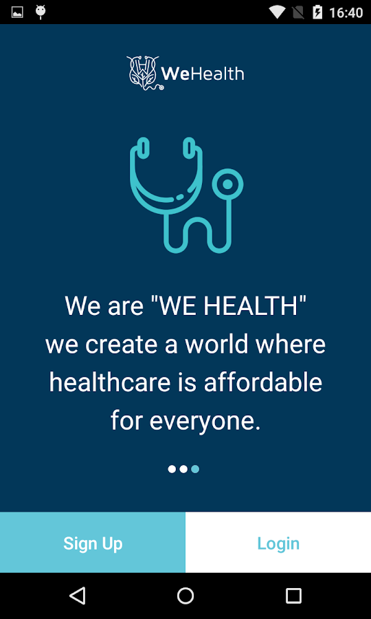 WeHealth UrgentCare App- screenshot