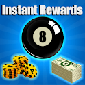 Pool Instant Rewards 2018 - coins and spins icon