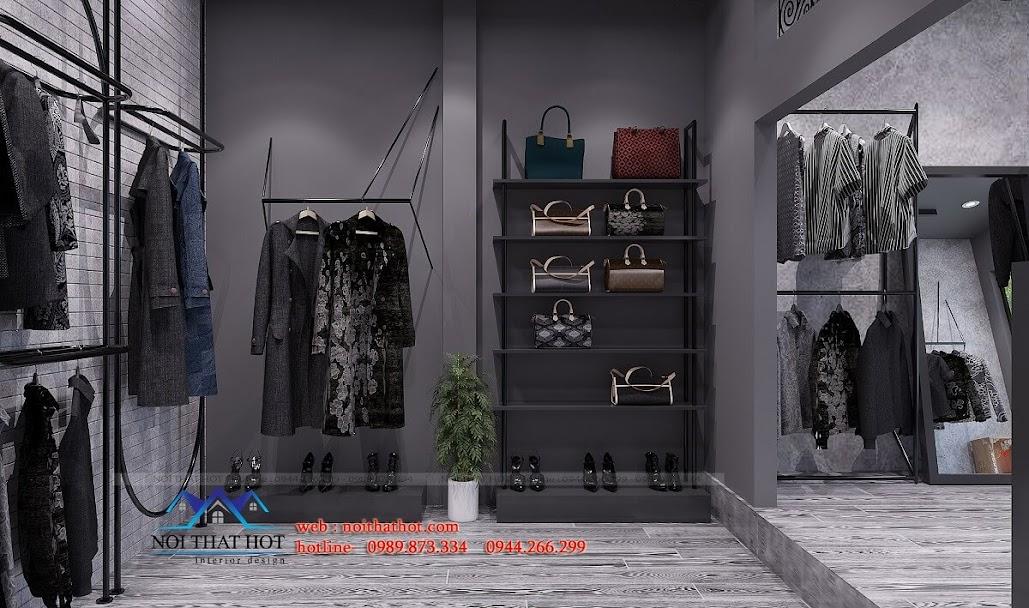 thiết kế shop thời trang nữ cá tính 8