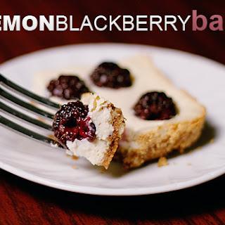 Lemon Blackberry Bars
