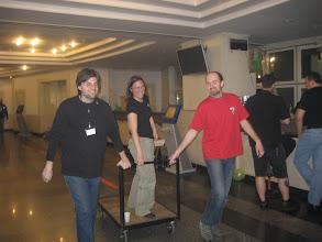 Photo: SFeraKon 2008: afterparty; SFera's president arriving on a speech trolly