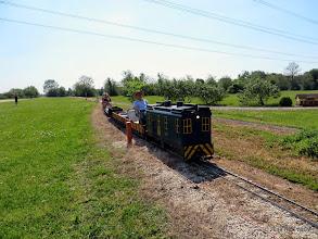 Photo: Engineer George Leventon.     HALS Public Run Day 2014-0419 RPW  10:39 AM