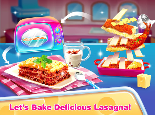 Cheese Lasagna Cooking -Italian Baked Pasta 1.4 Screenshots 4