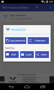 Wifi Password Show- screenshot thumbnail
