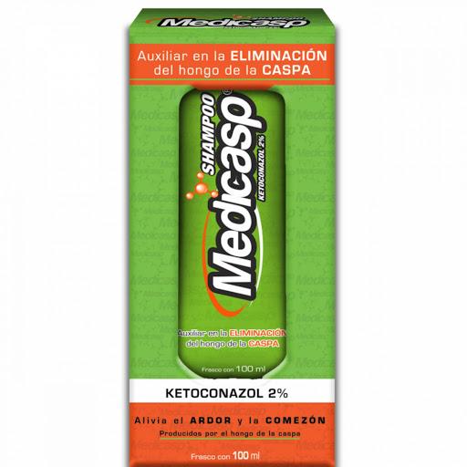 Medicasp Shampoo Capilar Anticaspa Ketoconazol 100 ML