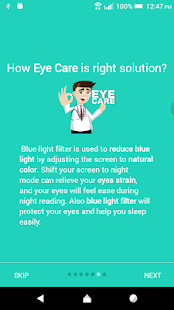 Blue Light Filter Pro - Eye Care Screenshot