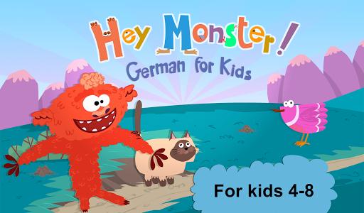 Hey Monster! German for Kids 1.2 screenshots 1