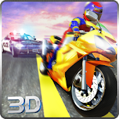 Sports Bike Race Police Chase