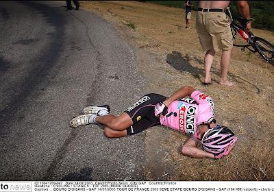Souvenir du Tour 2003 : Gap,  le rodéo d'Armstrong, la terrible chute de Beloki
