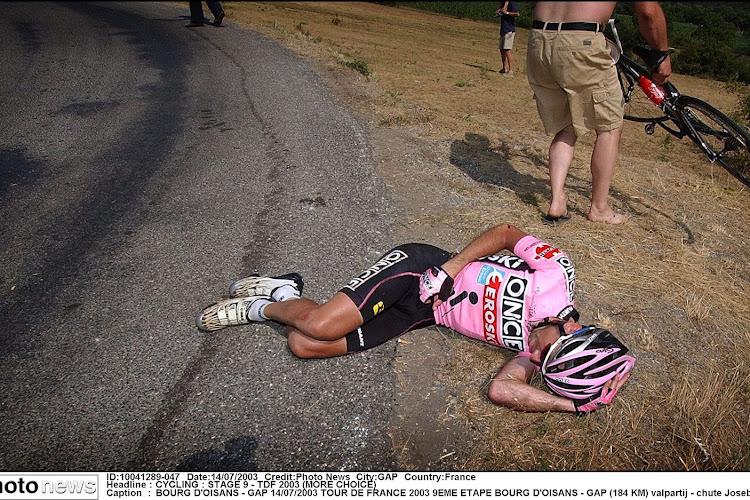 🎥 Gap,  le cyclo-cross d'Armstrong, la terrible chute de Beloki