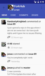 ForkHub for GitHub Screenshot 1