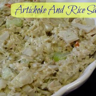 Artichoke And Rice Salad!