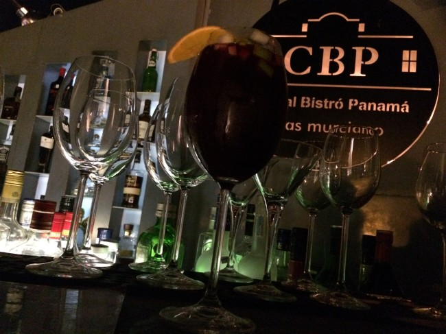 Capital Bistro Panama, a bustling spot with great views of the city skyline.