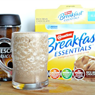 Cafe Mocha Breakfast Smoothie.