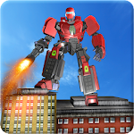 Robot Hero Rangers Battle Icon
