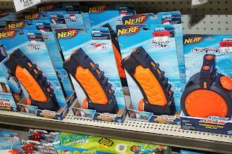 Photo: Nerf was on clearance which is rare.