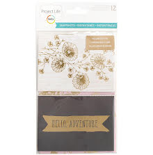 Project Life Specialty Card Pack 12/Pkg - Snapshots