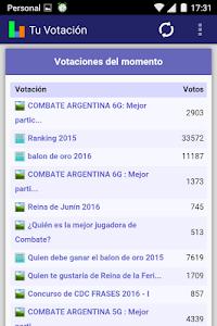 Tu Votación screenshot 1