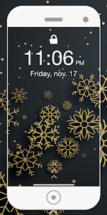 Christmas Lock Screen 2018 - hd wallpaper - náhled