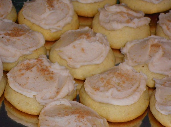 FROSTING:  Heat butter to melt, add powdered sugar, vanilla, and enough milk until...