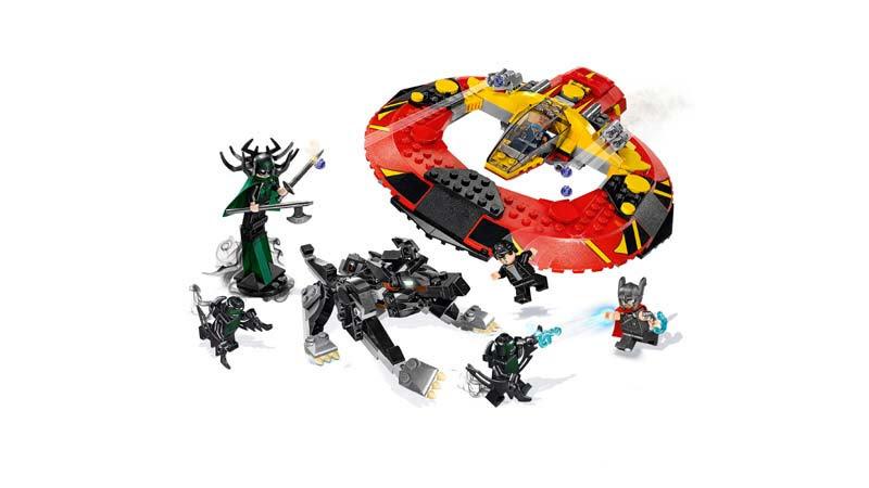 Contenido de Lego® 76084 La Batalla Definitiva por Asgard